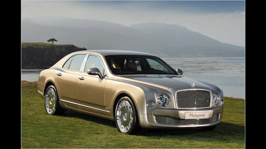 In bester Tradition: Bentley zeigt den neuen Mulsanne