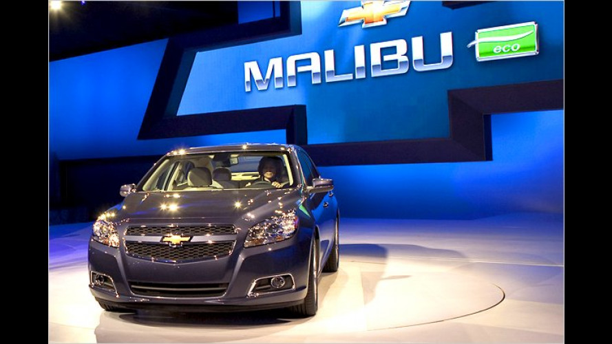 Chevrolet Malibu Eco: General Motors bringt Start-Stopp