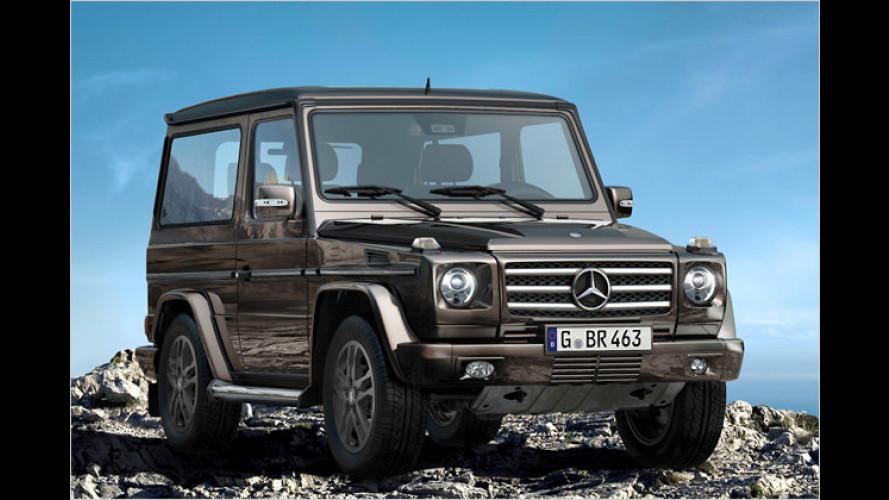 Mercedes G-Klasse: Offroad-Klassiker verabschiedet sich
