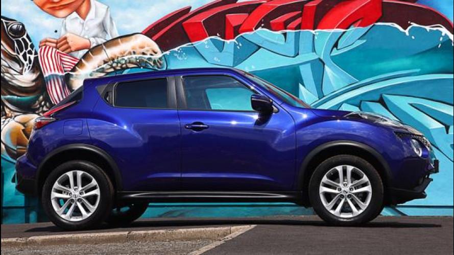 Nissan Juke restyling ora è anche a GPL