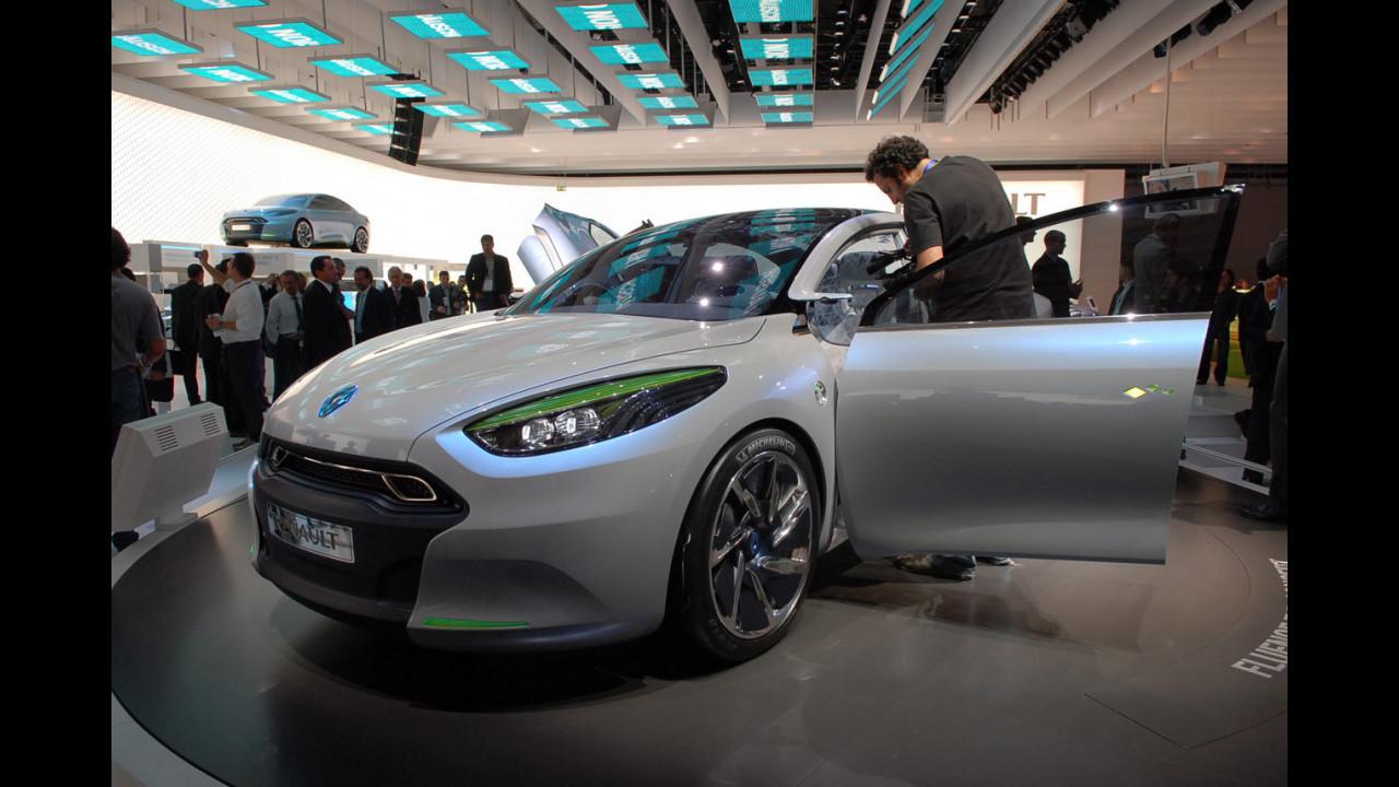 Renault Fluence Z. E. Concept al Salone di Francoforte 2009