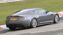 Aston Martin DBS / DB9 facelift spied on Nurburgring Nordschleif
