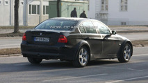 2012 BMW 3 Series mule spy photo