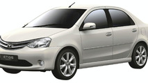 Toyota Etios Concept Unveiled in New Delhi