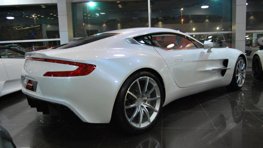 Aston Martin One-77 up for sale in Dubai