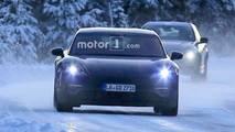 Porsche Mission E kış testi casus fotoğraflar
