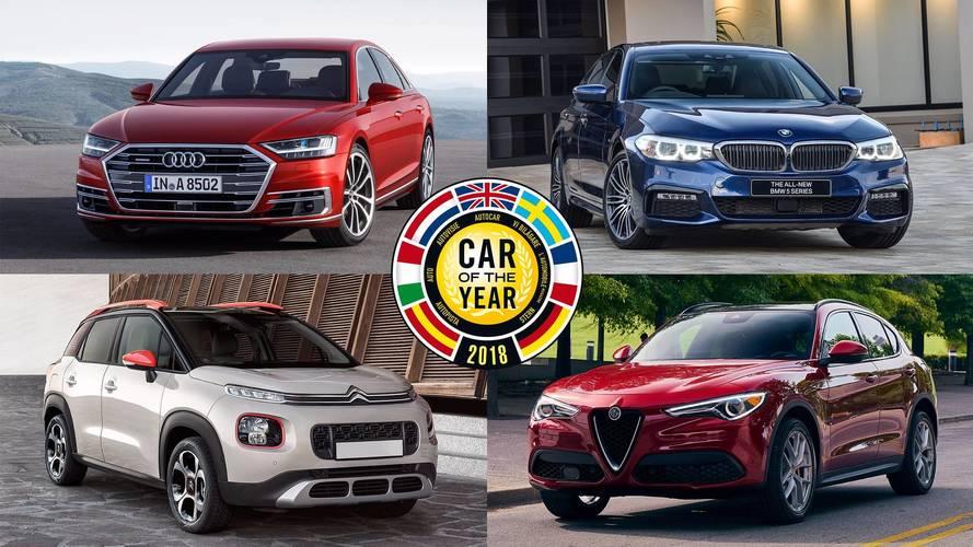 DIAPORAMA - Voiture de l'année 2018 : Les sept finalistes
