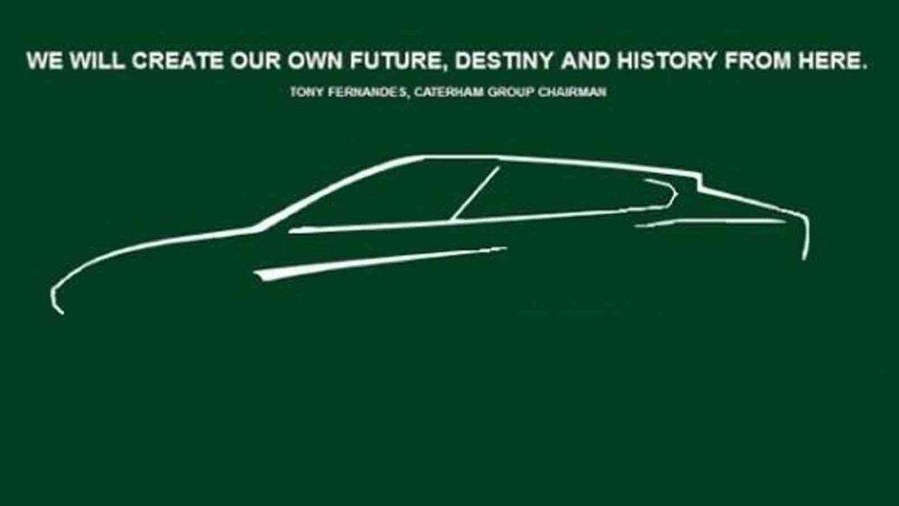 Caterham denies publishing this SUV sketch
