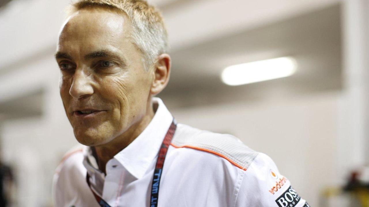Martin Whitmarsh 20.09.2013 Singapore Grand Prix