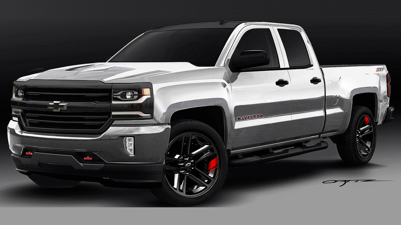 Chevrolet Colorado Red Line Series concept