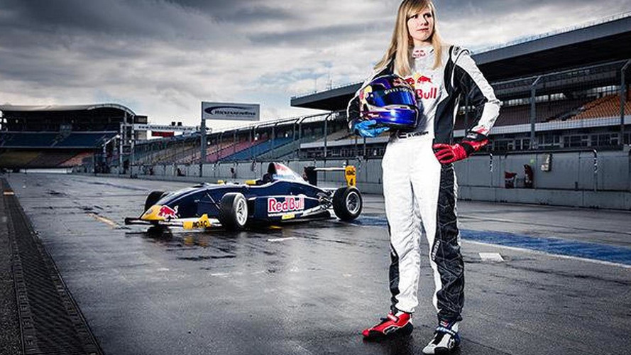 Red Bull signs female to famous 'junior team'
