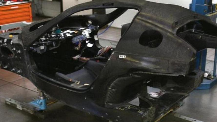 Ferrari F70 caught at the factory