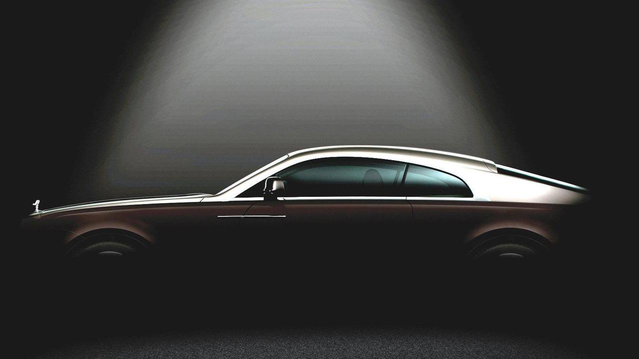 Rolls Royce Wraith teaser (digitally enhanced) 22.01.2013