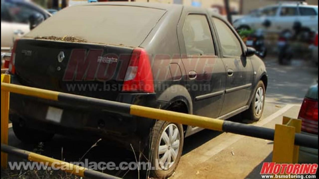 Segredo: Surge primeira imagem do Renault Logan Hatch exclusivo para a Índia