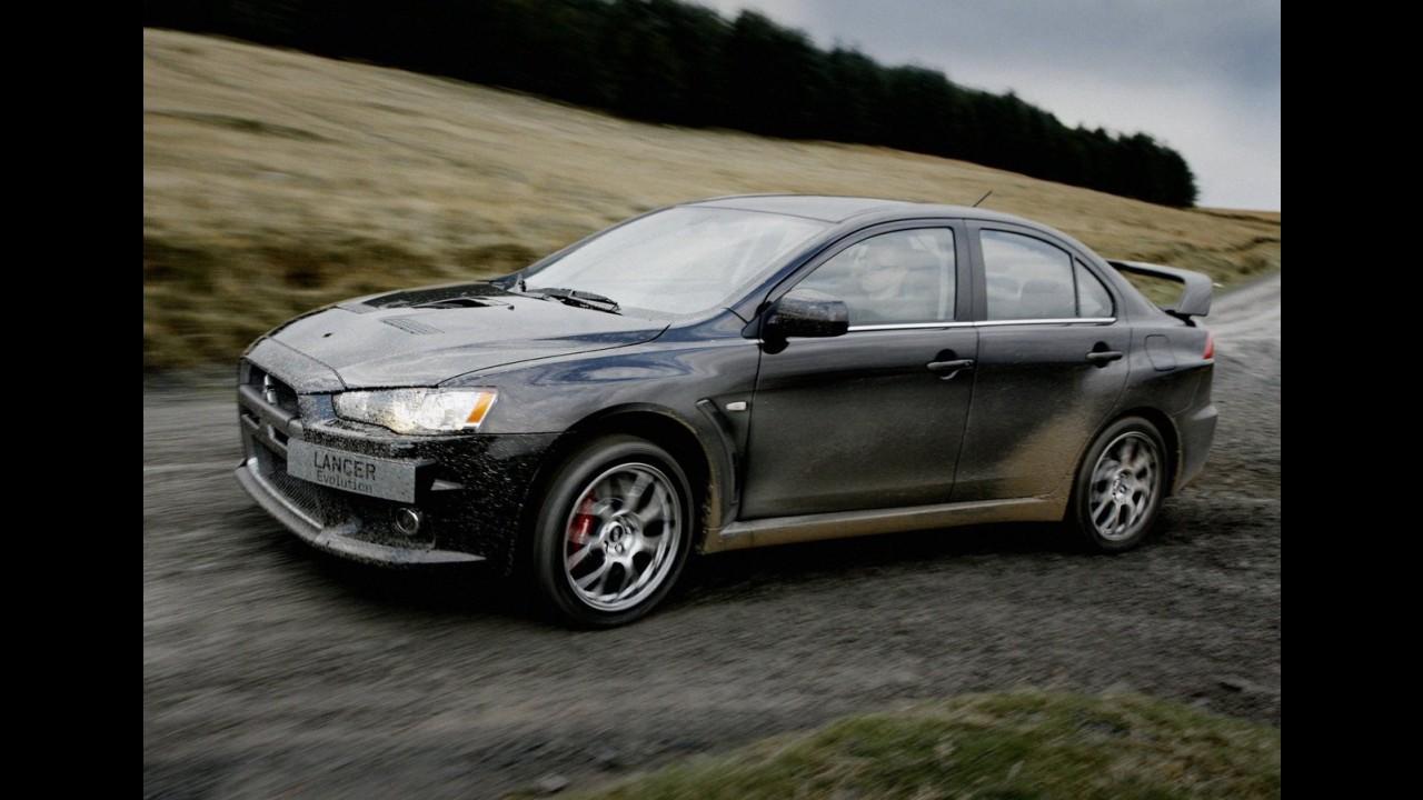 Previsto para 2014, Mitsubishi Lancer Evo da próxima geração terá motorização híbrida