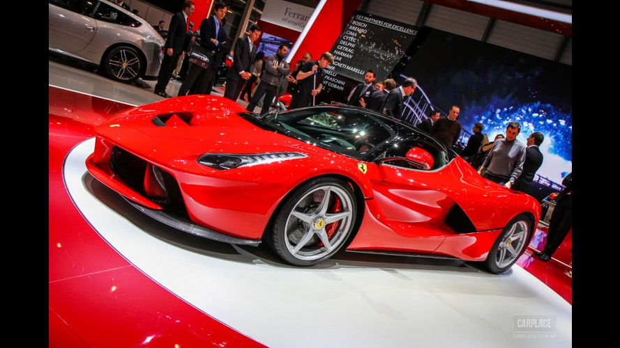 CARPLACE em Genebra: Fotos exclusivas da LaFerrari