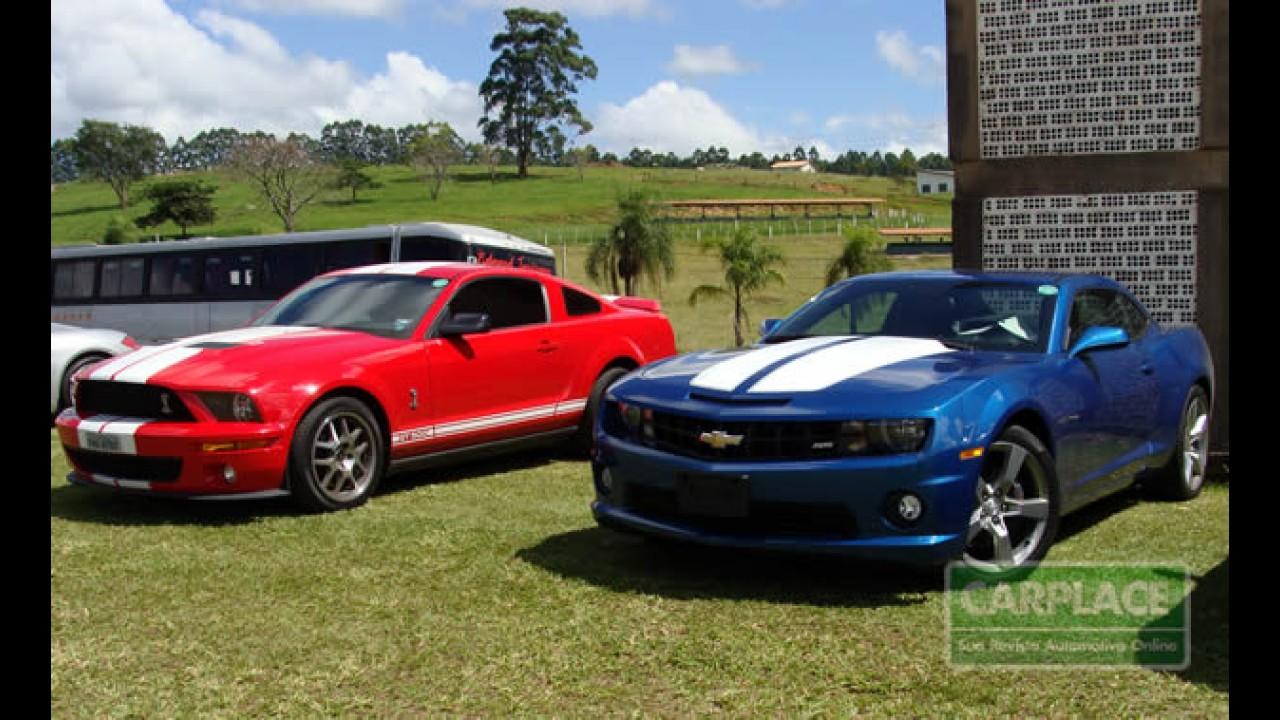 Chevrolet Camaro supera o rival Ford Mustang em vendas nos Estados Unidos