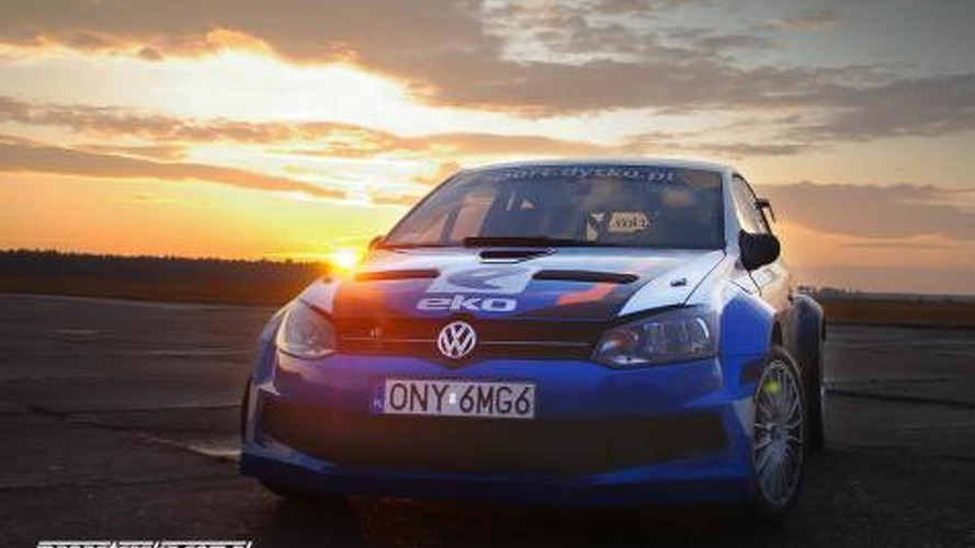 Watch a Polish Polo rally prototype with 400hp in action [video]