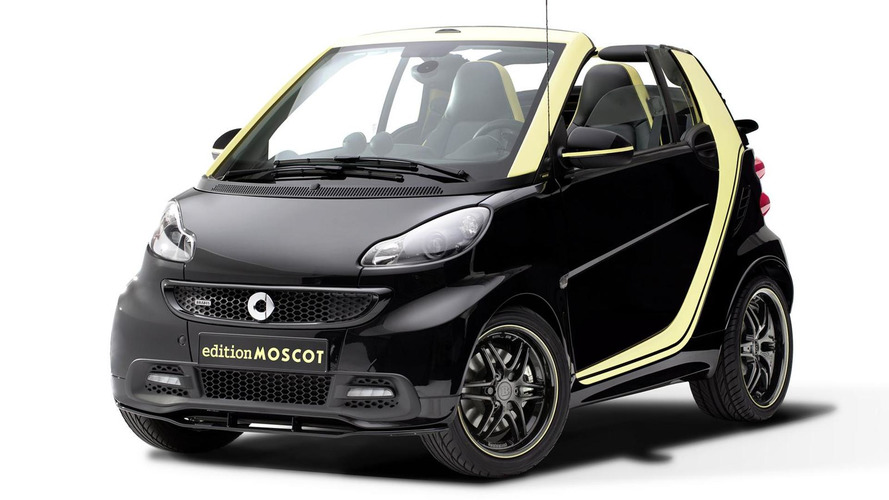 Smart ForTwo Cabrio edition MOSCOT unveiled, based on the old model