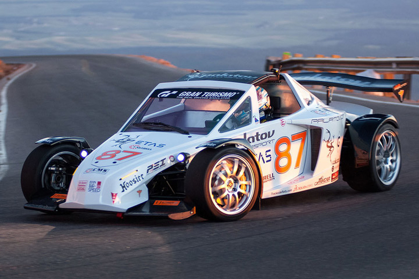 This Street-Legal Racecar Won Pikes Peak, Now It's For Sale