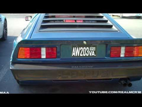 Lotus First Supercar: Lotus Essex Turbo Esprit @ Cars and Coffee