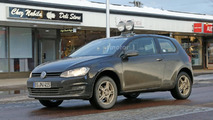 VW entry-level crosssover mule spy photos