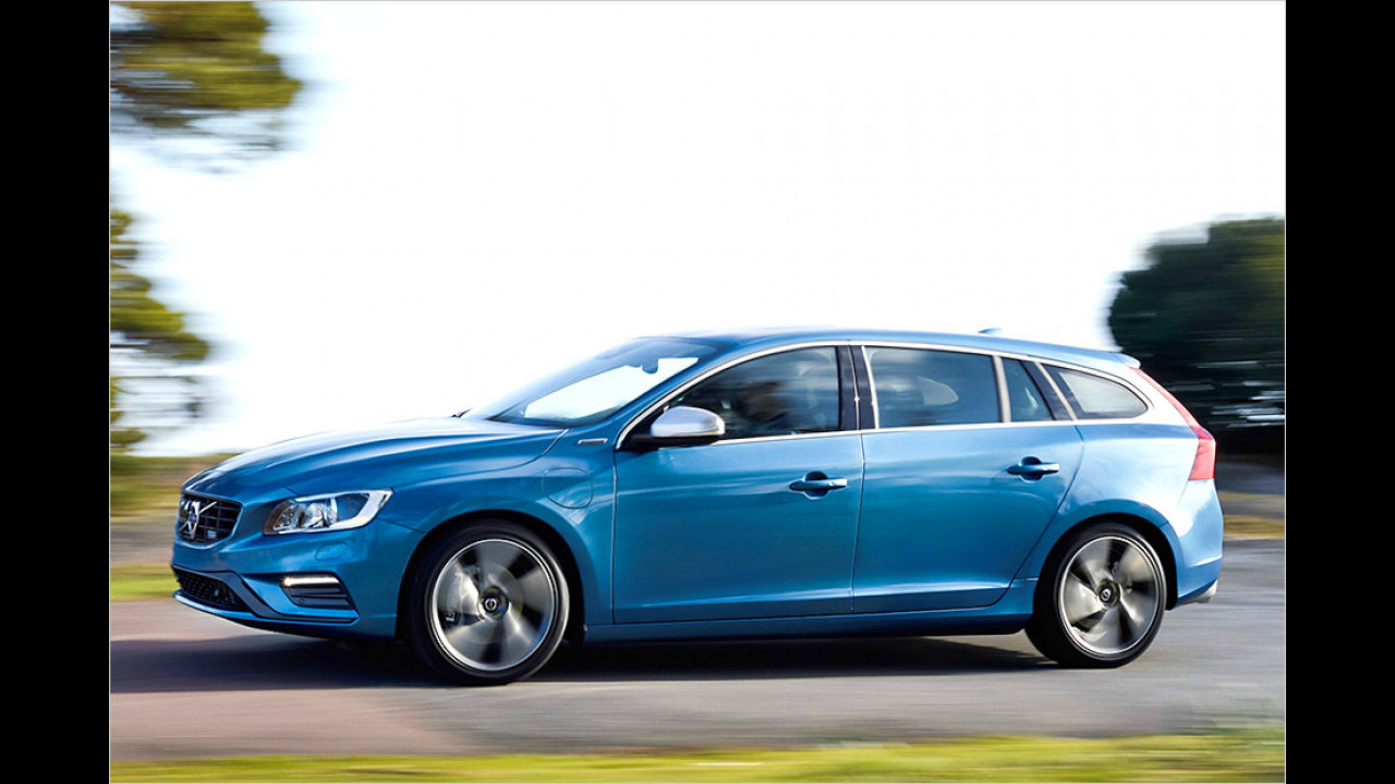 Volvo V60 D6 Twin Engine Geartronic