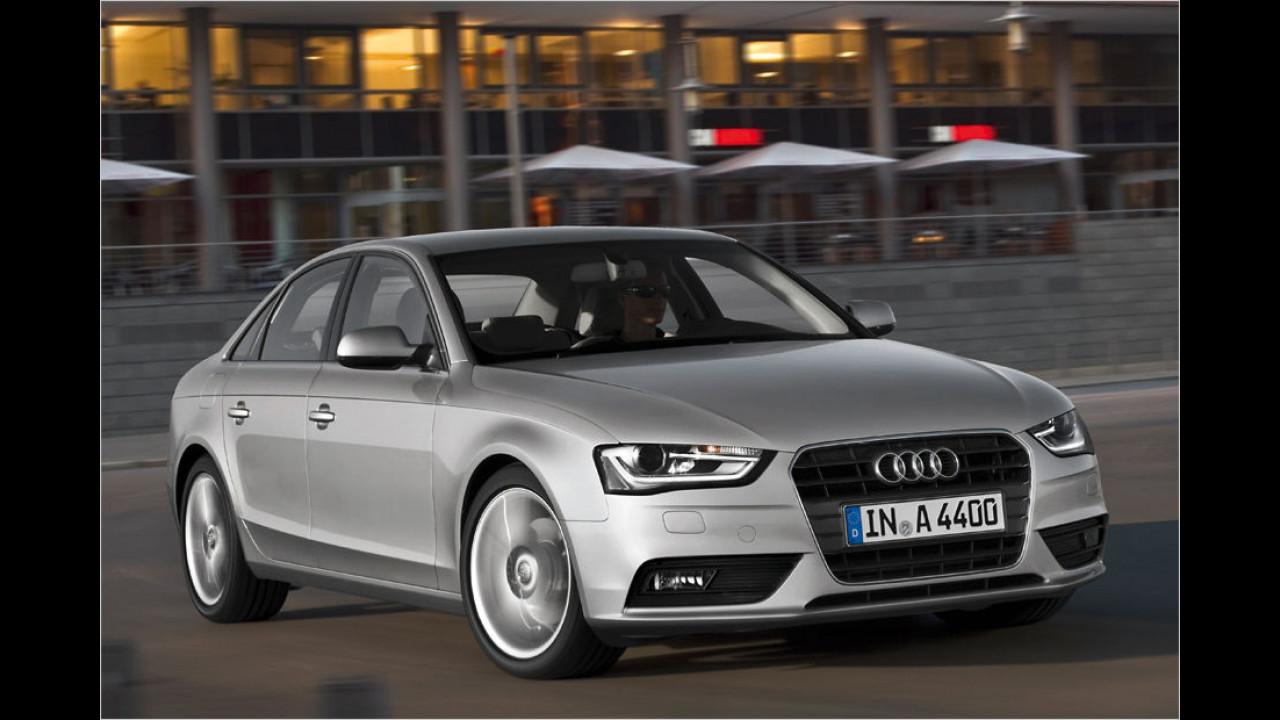 Mittelklasse, Platz 3: Audi A4 (12.477 Stück)
