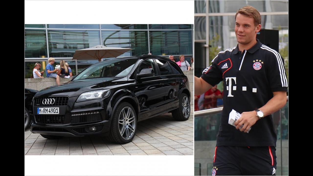 Manuel Neuer: Audi Q7