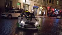 Prága leggyorsabb taxija - Skoda Fabia R5