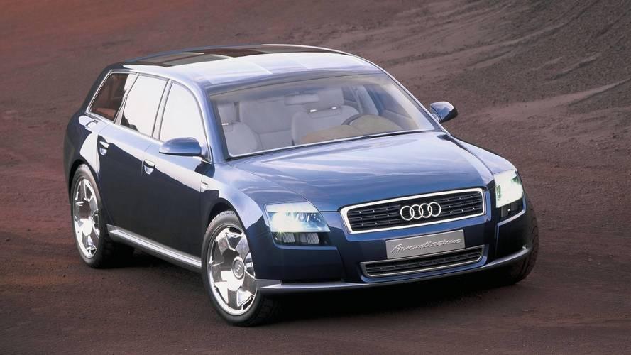 2001 Audi Avantissimo: Concept We Forgot