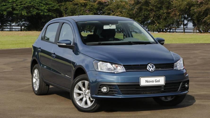 Mais vendidos na Argentina - VW Gol ganha em 2017, mas Onix já ameaça pra 2018