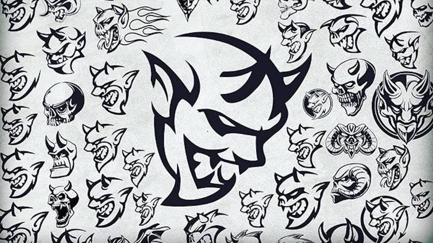 These Sketches Helped Spawn The Dodge Demon Logo