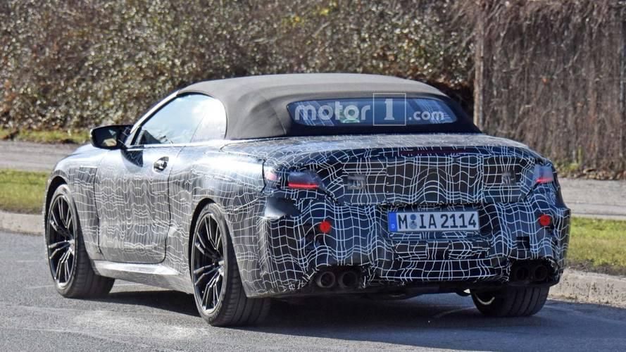 2018 BMW M8 Convertible casus fotoğraflar