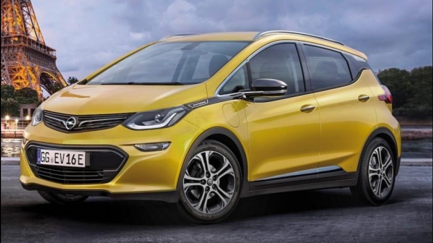 Opel Ampera-e, la monovolume elettrica al Salone di Parigi