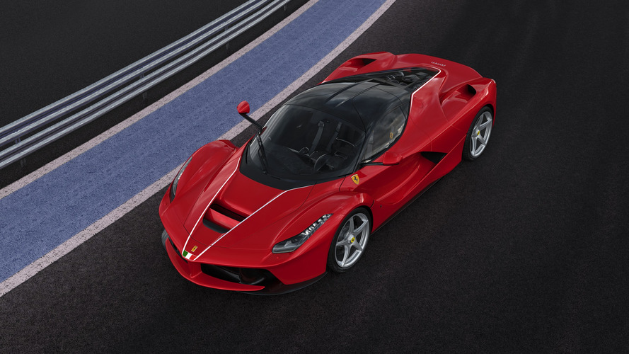 Final LaFerrari coupe hitting the auction block on Saturday for charity