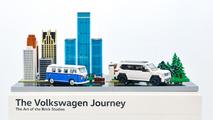 Volkswagen Lego Diorama Chicago Auto Show
