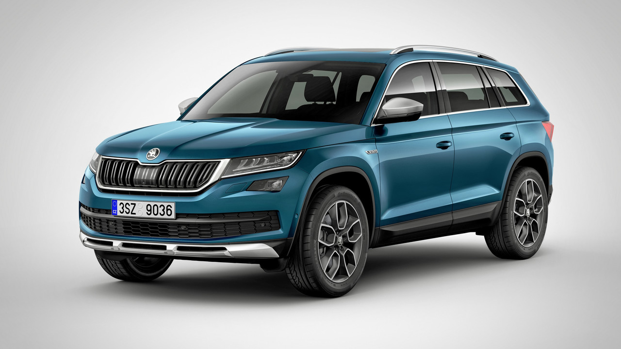 Black Kodiaq >> Skoda Kodiaq Sportline looks faster, but it isn't