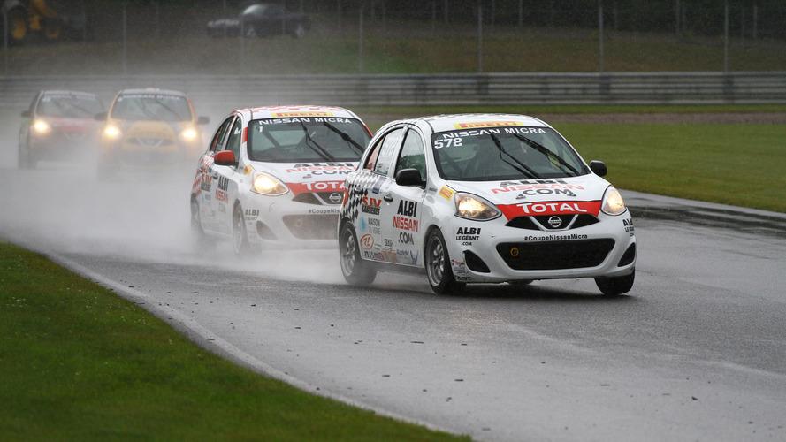 Nissan honours Micra Cup Champion with Gilles Villeneuve Trophy