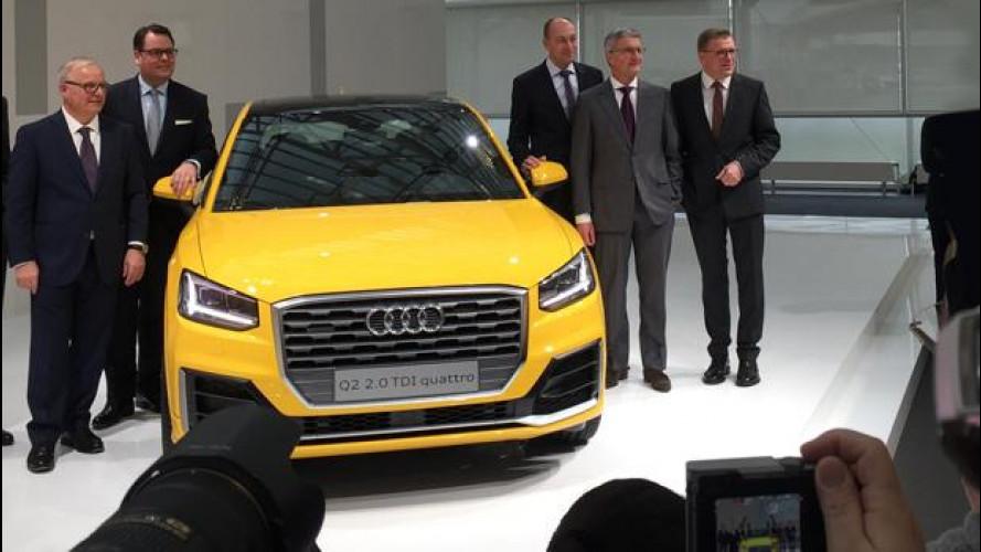 Audi Group cresce anche nel 2015, nonostante tutto