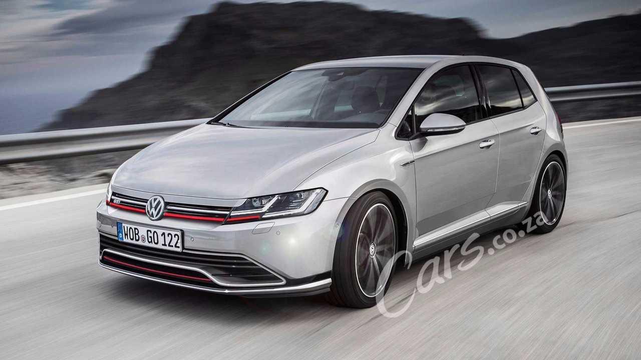 Volkswagen Golf GTI 2020 render