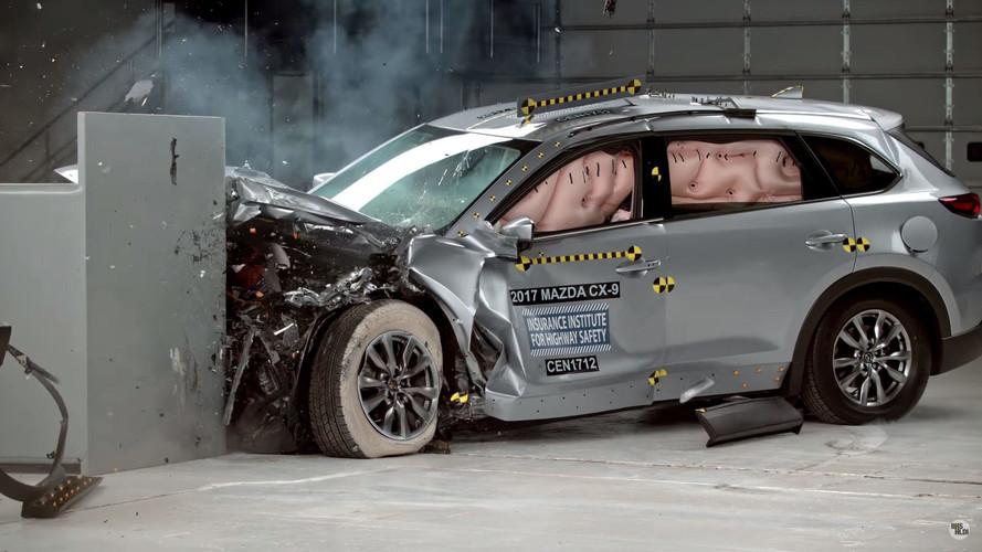 Mazda CX-9 Earns Top Ratings In IIHS Crash Tests