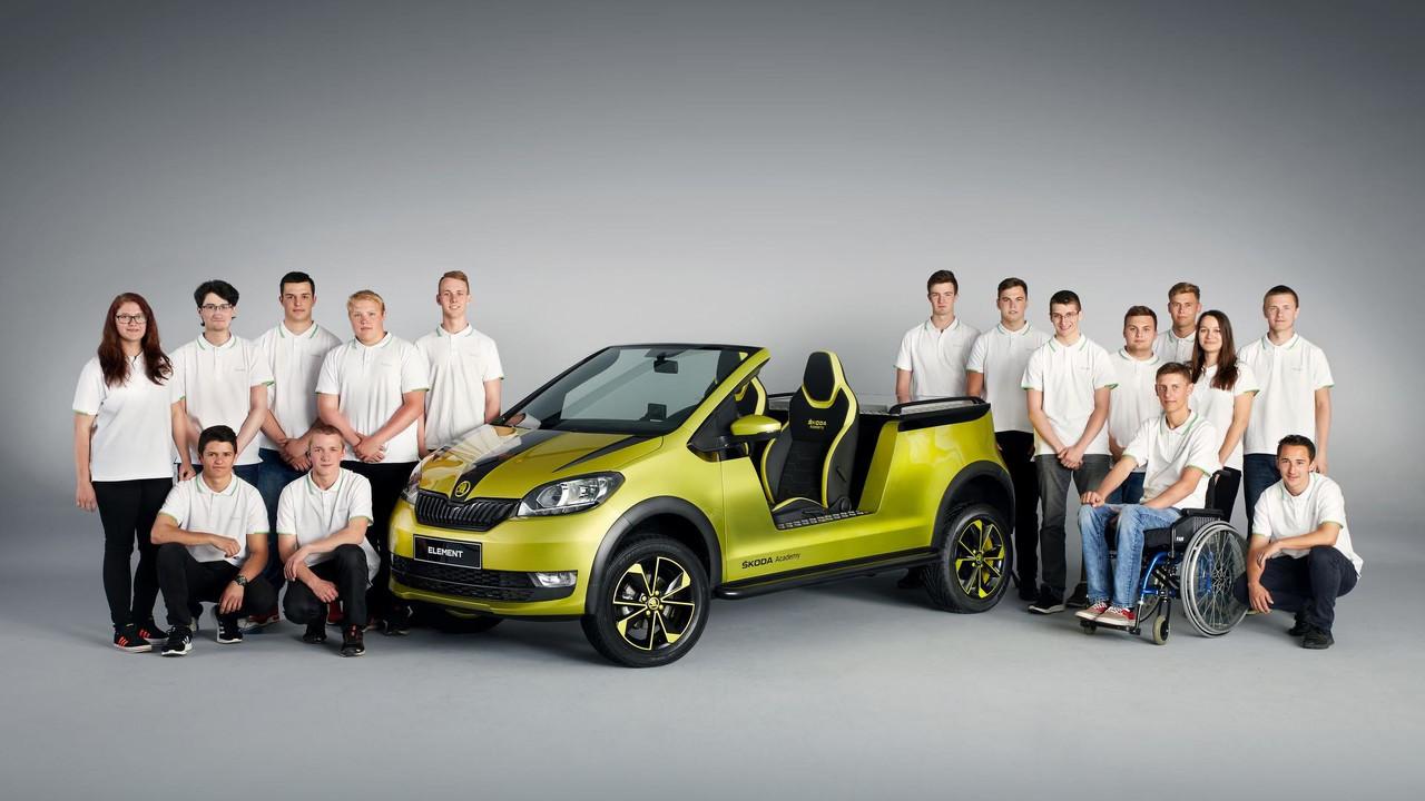 Skoda Element concept car buggy eléctrico
