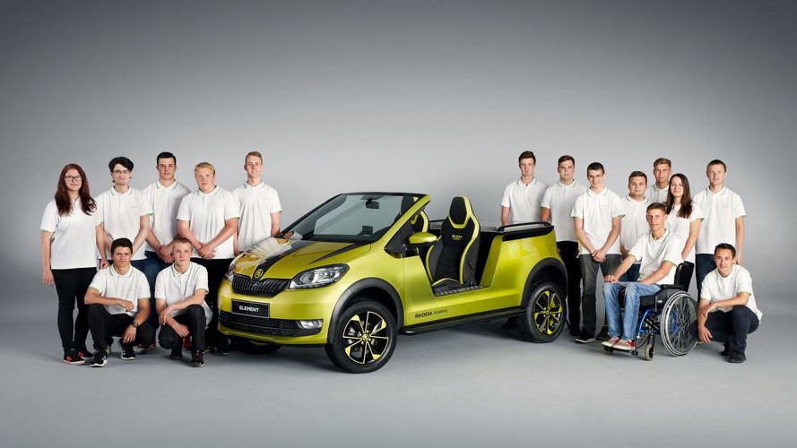 Skoda Makes The Citigo Exciting With Electric Buggy Conversion