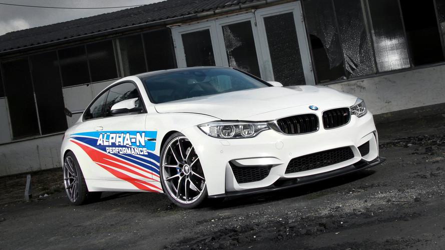 Este BMW M4 'tuneado' es más rápido que el M4 GTS en Nürburgring