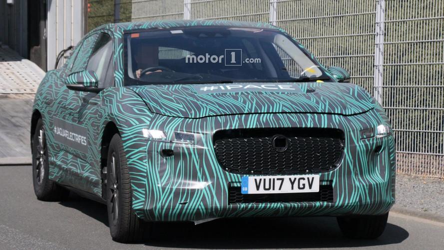 2018 Jaguar I-Pace nouvelles images espion