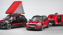 MINI Cowley Caravan and MINI Swindon Roof Top Tent introduced