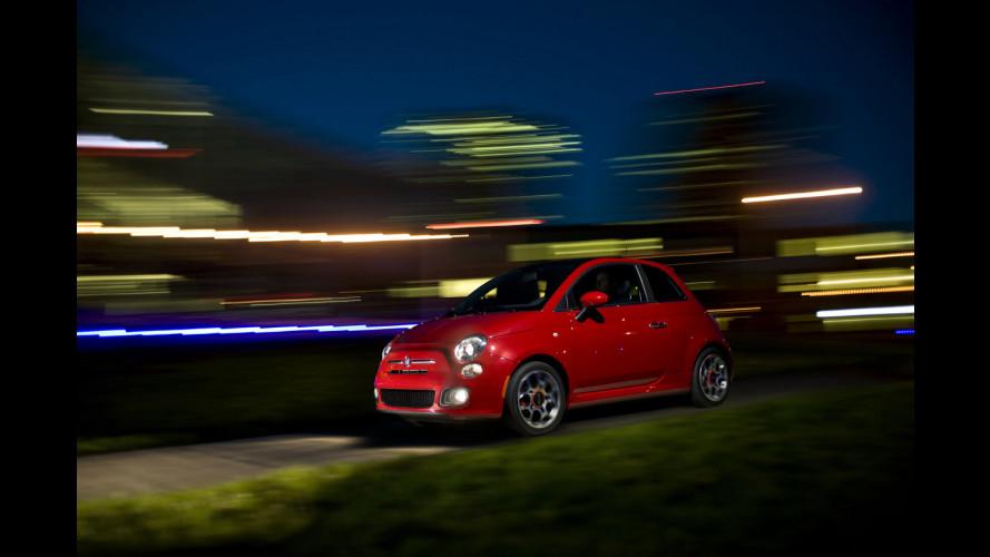 La Fiat 500 recupera negli USA
