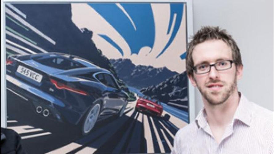 Jaguar F-Type Coupé è diventata un quadro