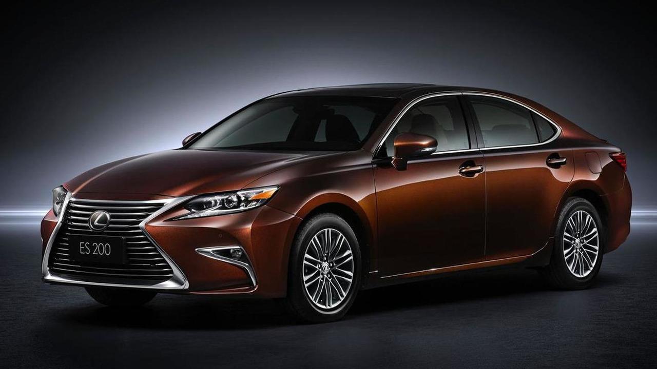 2016 Lexus ES facelift